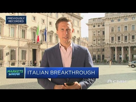 Euro zone exit could be off the table for new Italian government | In The News