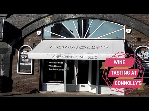 Wine Tasting at Connolly's Jewellery Quarter Wine Merchants