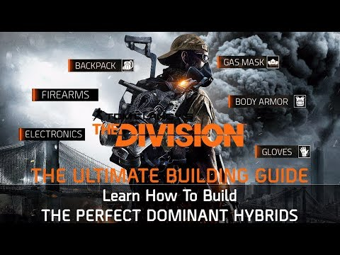 The Division 1.6.1 | HOW TO BUILD THE BEST HYBRIDS - META BUILDS GUIDE!!