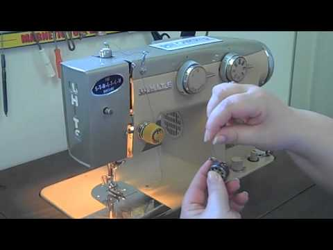 How To Thread A Sewing Machine YouTube Beauteous White Sewing Machine Model 622