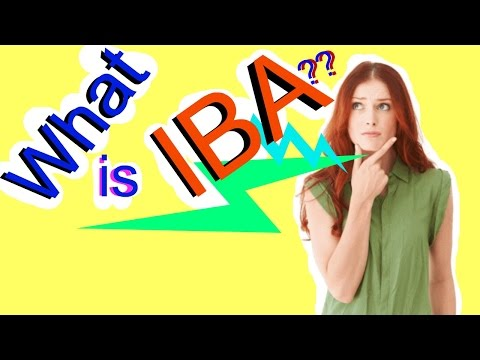 """""""IBA DU ADMISSION"""" - What Is IBA ??"""