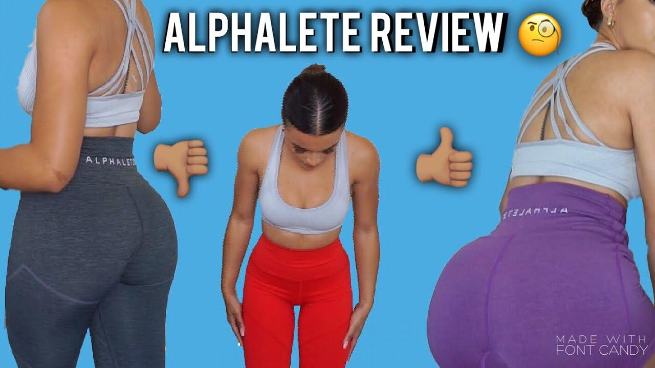 NEW ALPHALETE REVIVAL LEGGINGS REVIEW
