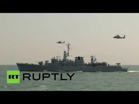 Bulgaria: NATO conduct military drills in Black Sea
