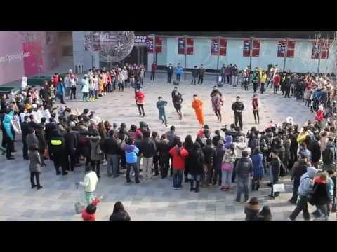 Probably the Best Flash mob Proposal in China