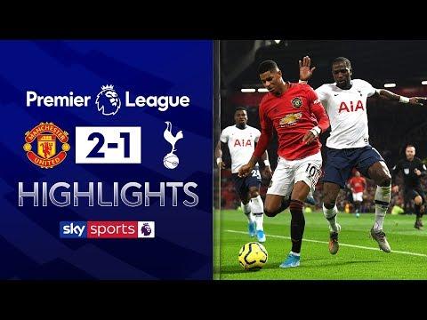 Rashford goals hand Jose first Spurs defeat   Man Utd 2-1 Tottenham   Premier League Highlights