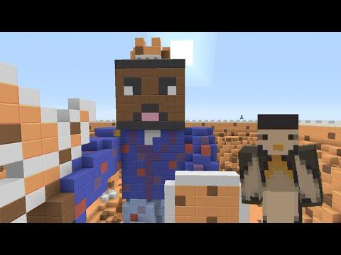 Minecraft Xbox: BigBstatz 500K Special Map - Cookie Wars