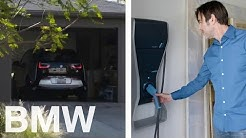 Home charging: How to charge your BMW i3 at home. Explained by BMW i3 drivers Kathryn and Chad.