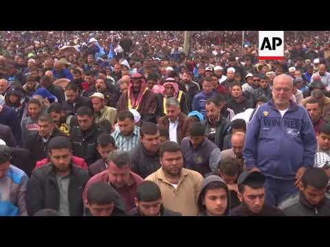 Thousands Attend Friday Prayers At Border Between Israel And Gaza