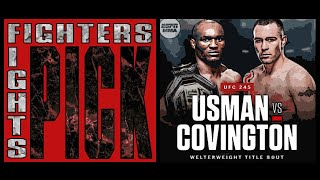 Fighters Pick Fights | Kamaru Usman vs. Colby Covington | UFC 245