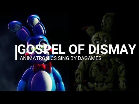 Animatronics sing Gospel of Dismay  DaGames