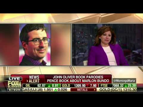 Charlotte Pence responds with grace to John Oliver's nasty attack on her children's book