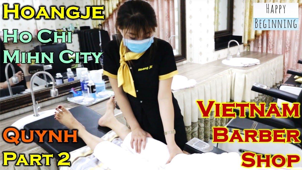 Vietnam Barber Shop QUYNH II PART 2 - Hoangje (Ho Chi Mihn City, Vietnam)