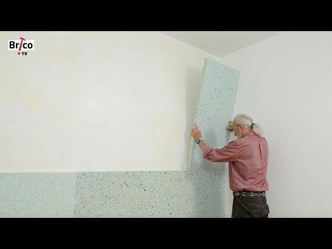 Acoustique : poser une isolation phonique sur un mur-Tuto de Robert pour une isolation phonique