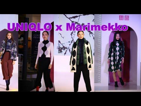 Fashion Show ,  UNIQLO + Marimekko , เปิดตัวลิมิเต็ดเอดิชั่นคอลเลคชั่นใหม่
