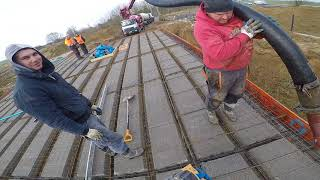 Zalewanie stropu teriva. Jak betonować strop teriva? Zrób to sam. Budowa domu 2018