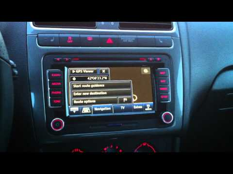 vw polo v radio und navi ausbauen remove rcd310 und co. Black Bedroom Furniture Sets. Home Design Ideas