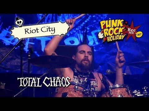 "#120 Total Chaos ""Riot City"" @ Punk Rock Holiday (11/08/2016) Tolmin, Slovenia"