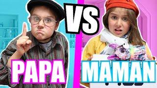 PAPA VS MAMAN ! *différences entre papa et maman*