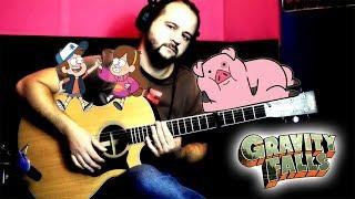 Gravity Falls (main theme on guitar) + TABS/NOTES | Navigator Studio