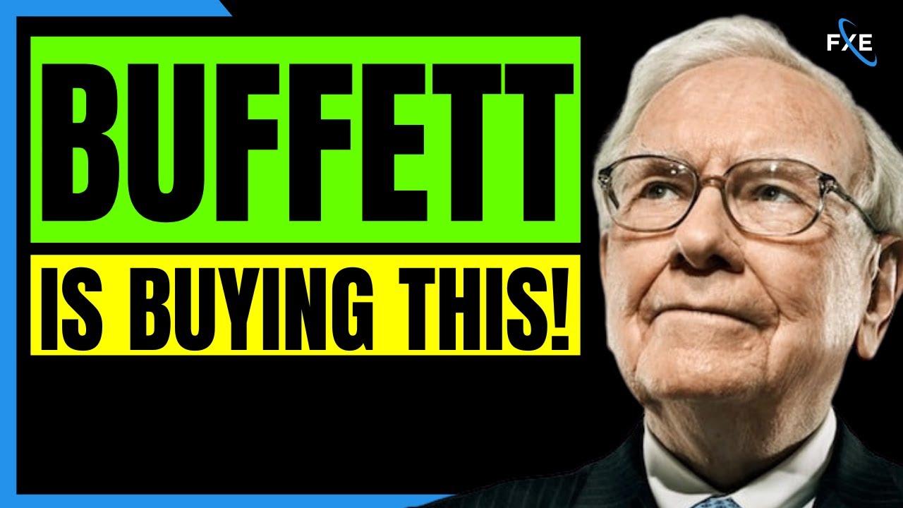 Warren Buffett Reveals The Stock He Is Buying Right Now! Should You?