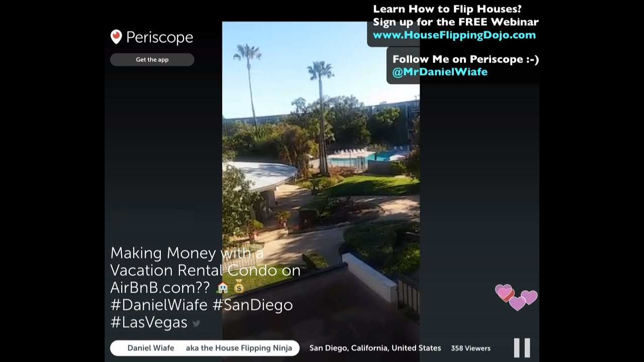 making money on airbnb by buying a short term vacation rental in las