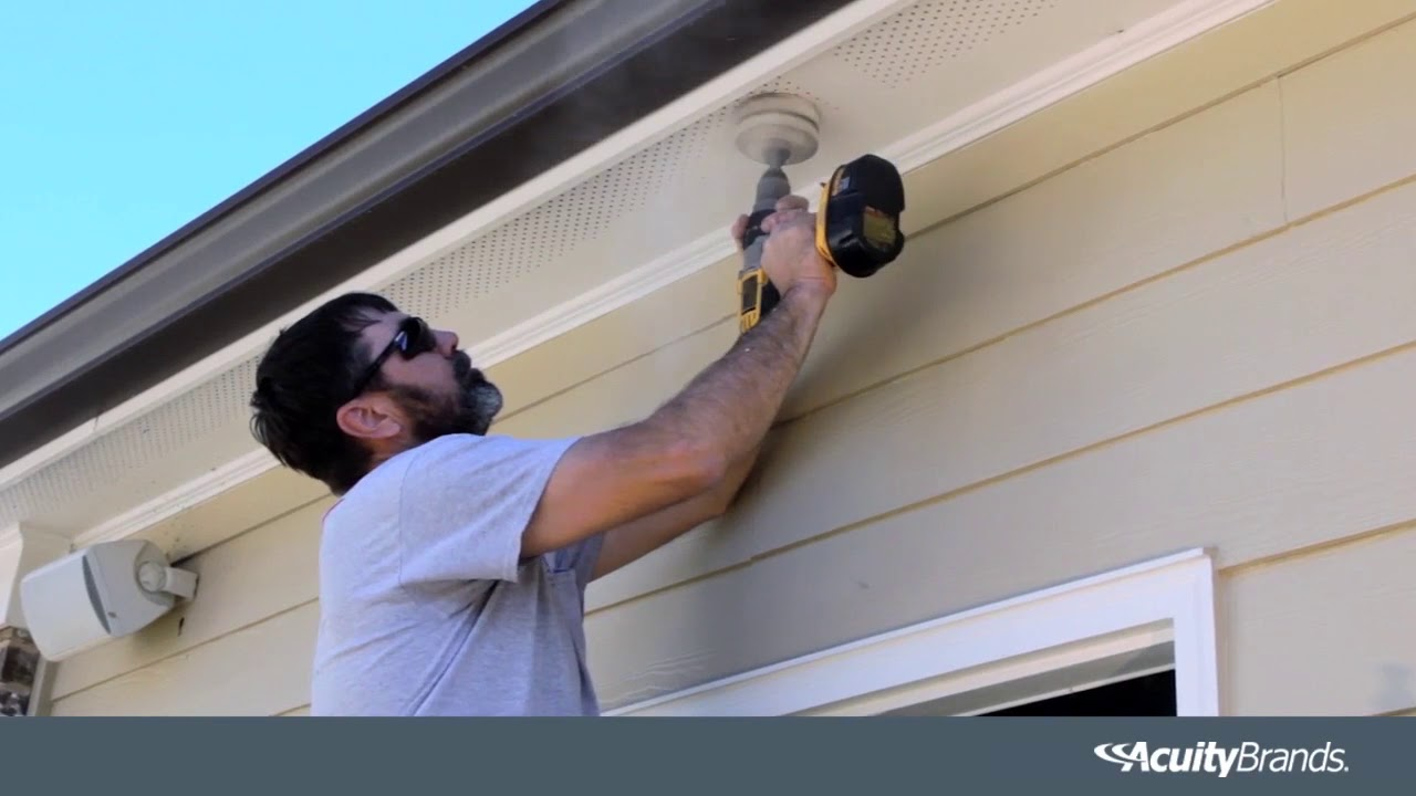 How To Install An Ultra Thin Led Downlight Outdoors 1000bulbs