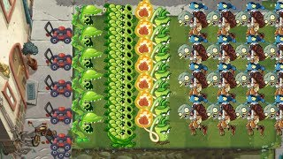 Plants vs. Zombies 2 - Snap Pea and Sling Pea 999 Zombies