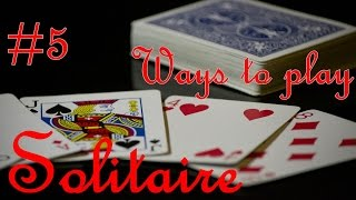 Ways to Play Solitaire #5: Pyramid