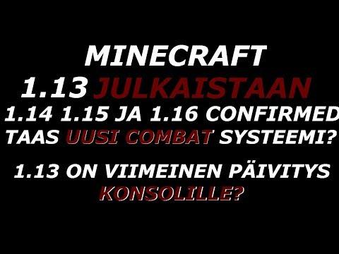 Minecraft: Taas uusi combat? 1.14 1.15 ja 1.16 Confirmed. 1.13 konsolien viimeinen päivitys?