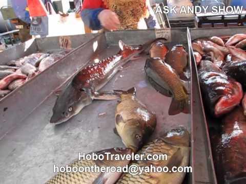 Fish Market in Odessa Ukraine