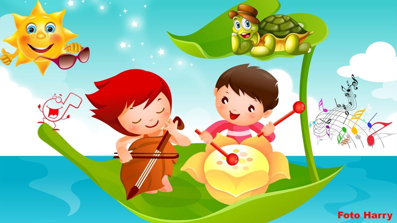 Musica Para Niños Con Imágenes Infantiles