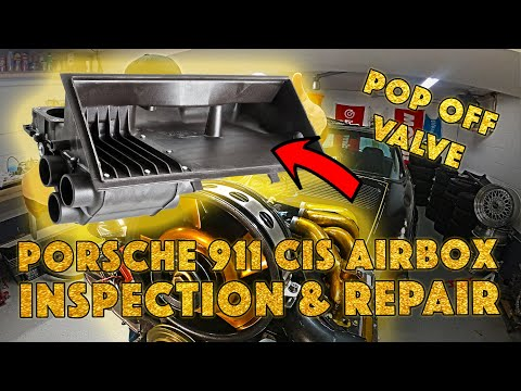 How to Inspect your Porsche 911 CIS Airbox Fix Leaks & Install a Pop Off Valve Project Airkult EP23