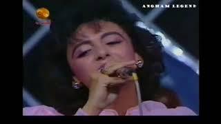 انغام اغنية لا ليلي لالي  من حفل قصر الثقافة عمان الاردن 1989