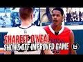 Shareef O'Neal Shows Off Improved All-Around Game at St Monica Tournament!