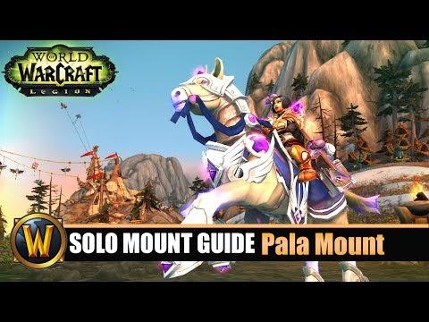 Telars Solo Mount Guide #61 Pala Class Mount (7.2.5)