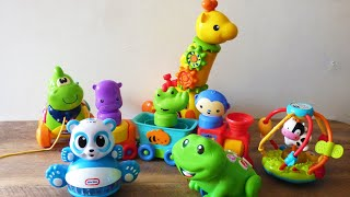 Musical Animal Toys For Babies. Fisher Price, Vtech, Little Tikes, Chicco