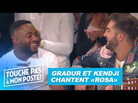 "Kendji et Gradur chantent ""Rosa"" dans TPMP"