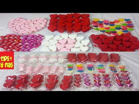 Brochetas De Bombón Y Chocolates Para El 14 De Febrerodía De San Valentín