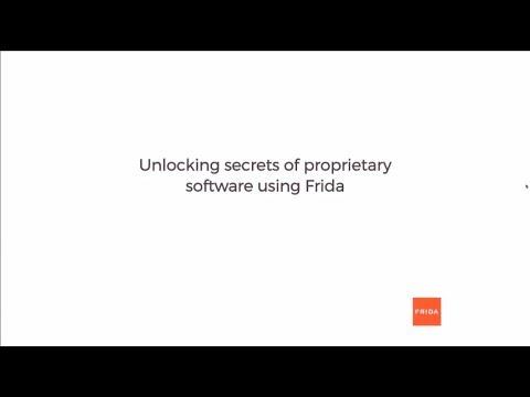 Unlocking secrets of proprietary software using Frida - Ole André Vadla  Ravnås