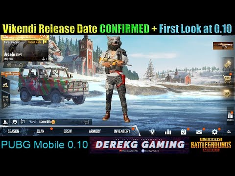 PUBG Mobile Vikendi (Snow Map) RELEASE DATE CONFIRMED!! 12/20/2018 - Potential Update Issues?