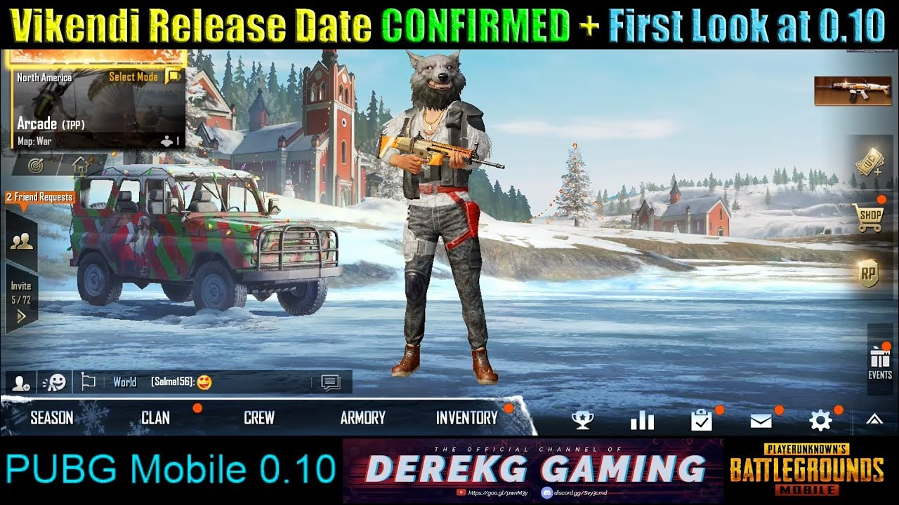 Pubg Mobile To Release Snow Map Vikendi On December 20: PUBG Mobile Vikendi (Snow Map) RELEASE DATE CONFIRMED!! 12