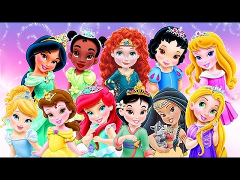 Baby Disney Princess Compilation Movie 2016 - Baby Games for Kids