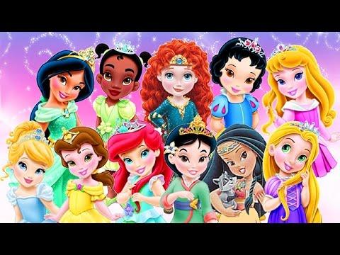 Baby Disney Princess Compilation Movie 2016 - Baby Games ...