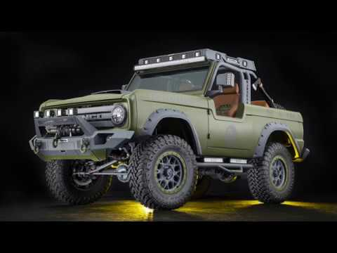 Rmd Garage 1969 Bronco Quot Urban Madness Quot Youtube