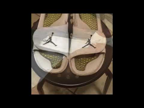 Cleaning my Jordan sandals