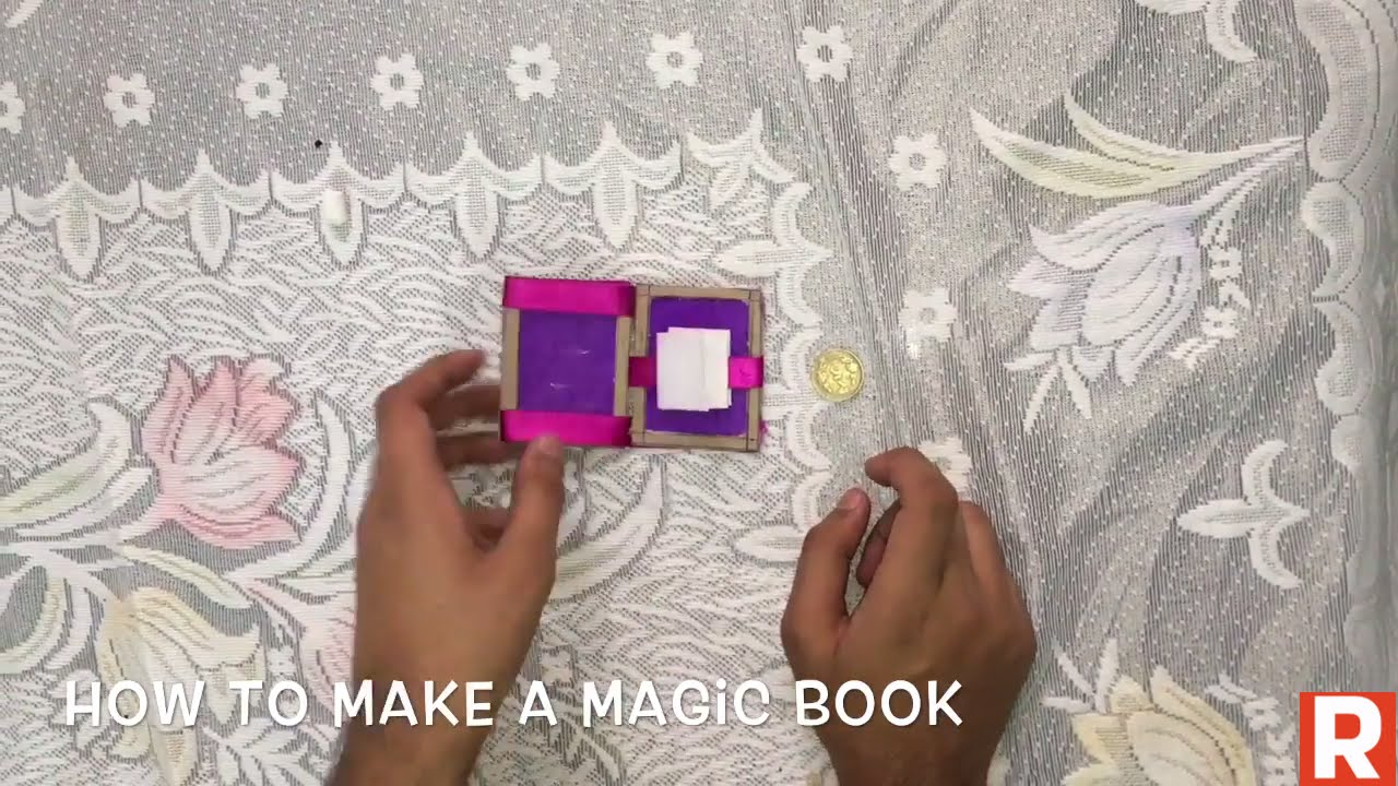 How To Make A Magic Book At Home You