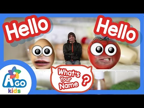 Hello What's Your Name? | English Song | AGO Kids ESL