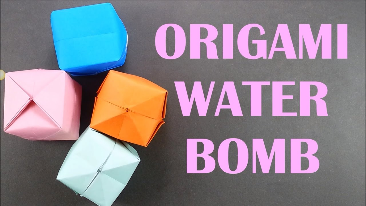 How to Make an Origami Balloon : Simple & Fun Origami - YouTube | 720x1280