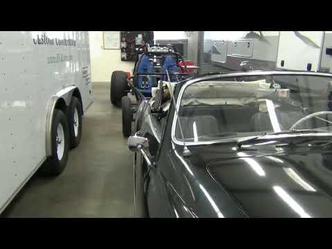 VW Karmann Ghia Convertible Converted to Electric