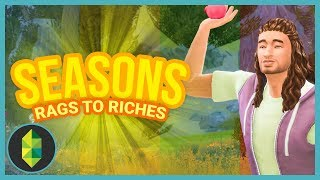 MOVING INSIDE - Part 2 - Rags to Riches (Sims 4 Seasons)